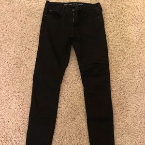 Black Articles of Society Jeggings Size 25